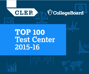 "CollegeBoard ""CLEP Top 100 Test Center 2015-16"""