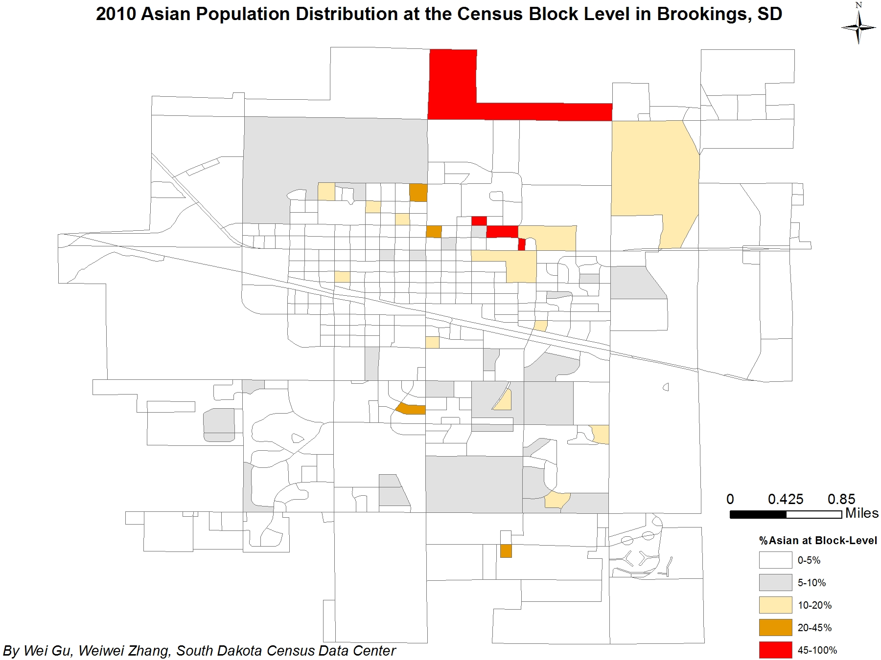 Collection of maps south dakota state university asian population distribution in block level in brookings sd 2010 1betcityfo Gallery