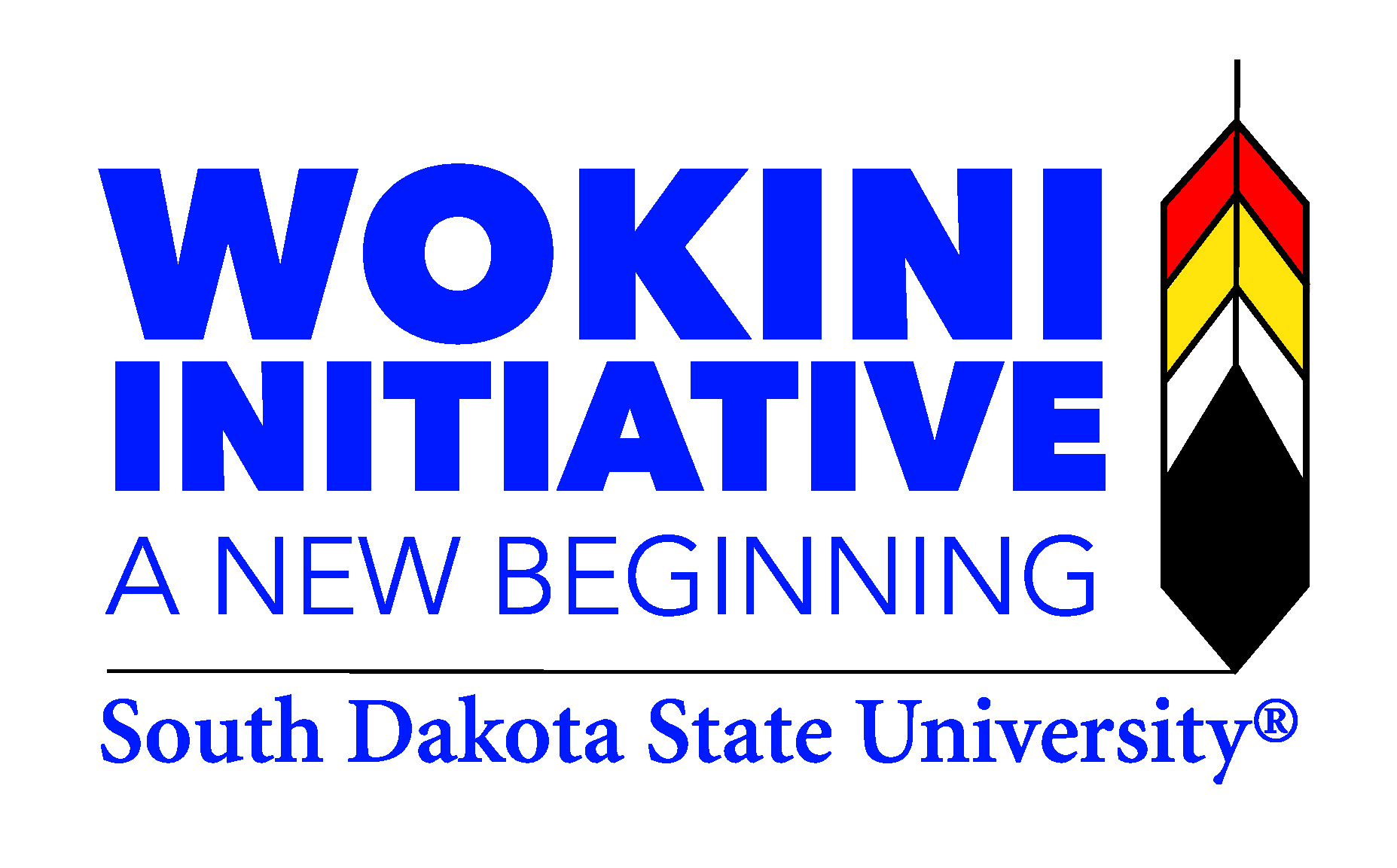 "Wokini Initiative: ""A New Beginning"" Logo"