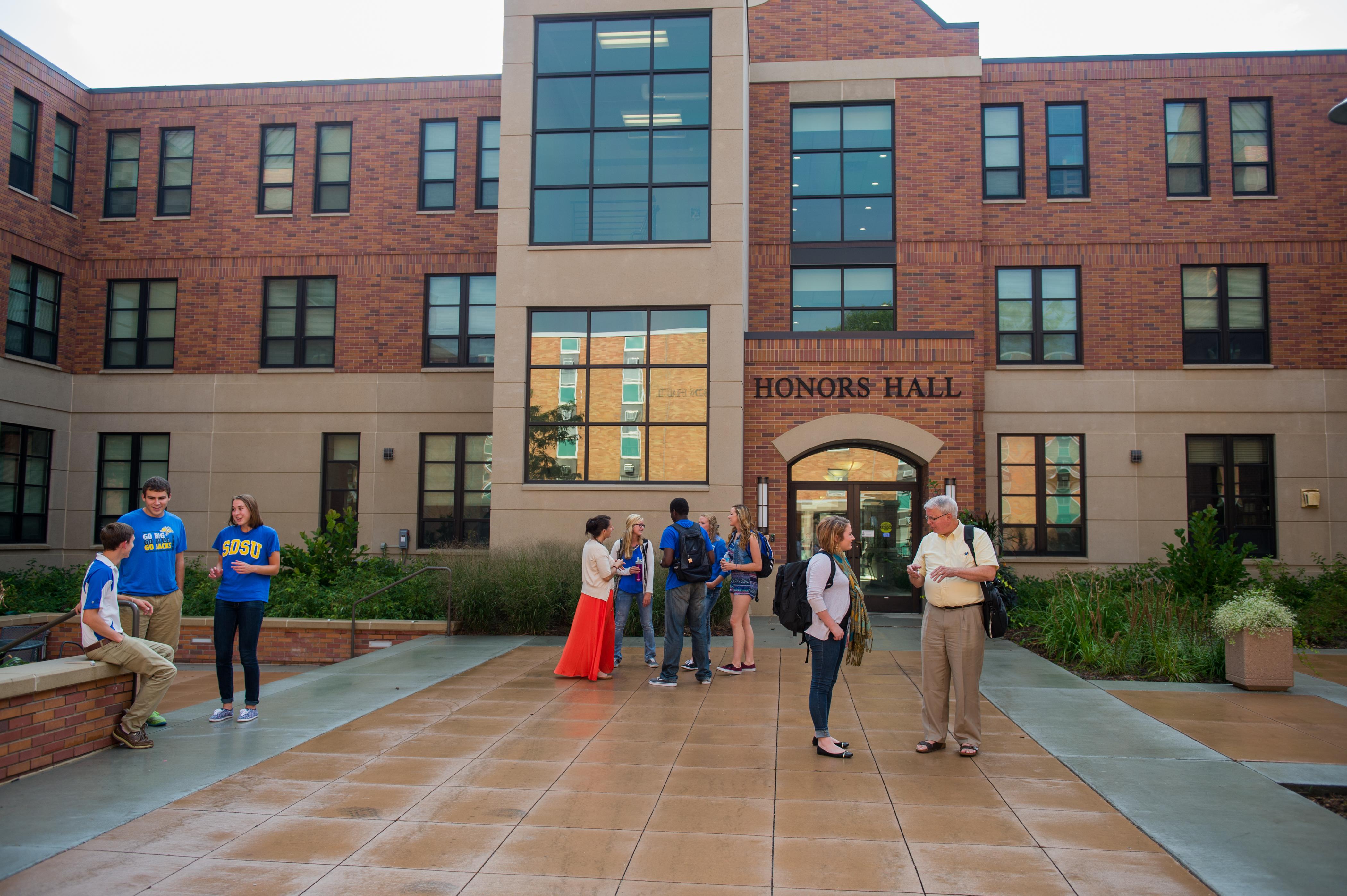 Honors Hall South Dakota State University
