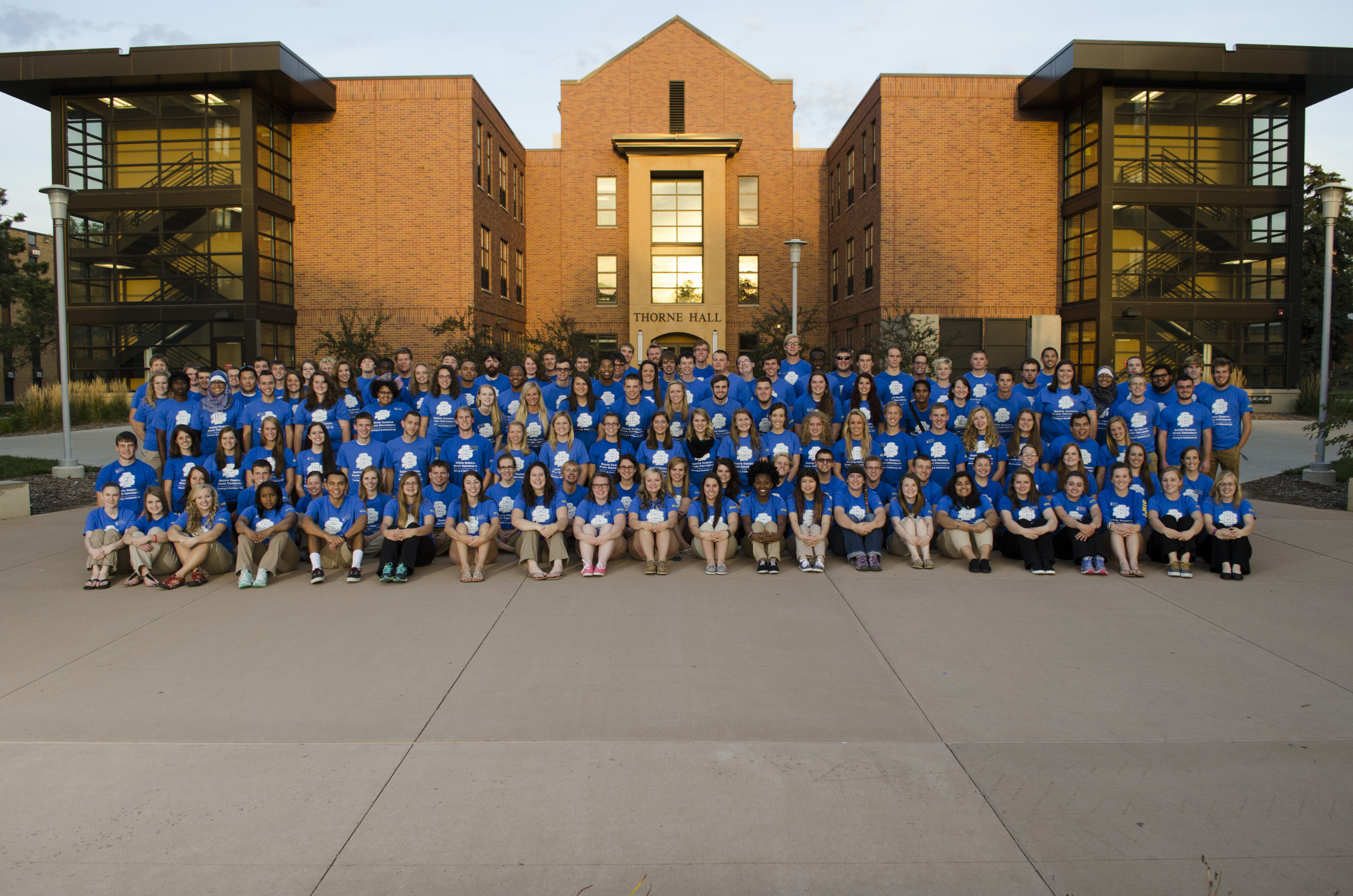 Group photo of Residence Life staff