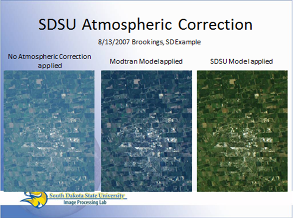 SDSU Atmospheric Correction