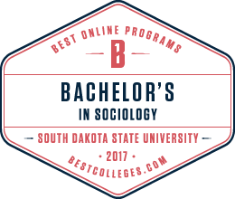 Best Online Programs | Bachelor's in Sociology | South Dakota State University | 2017 | bestcolleges.com