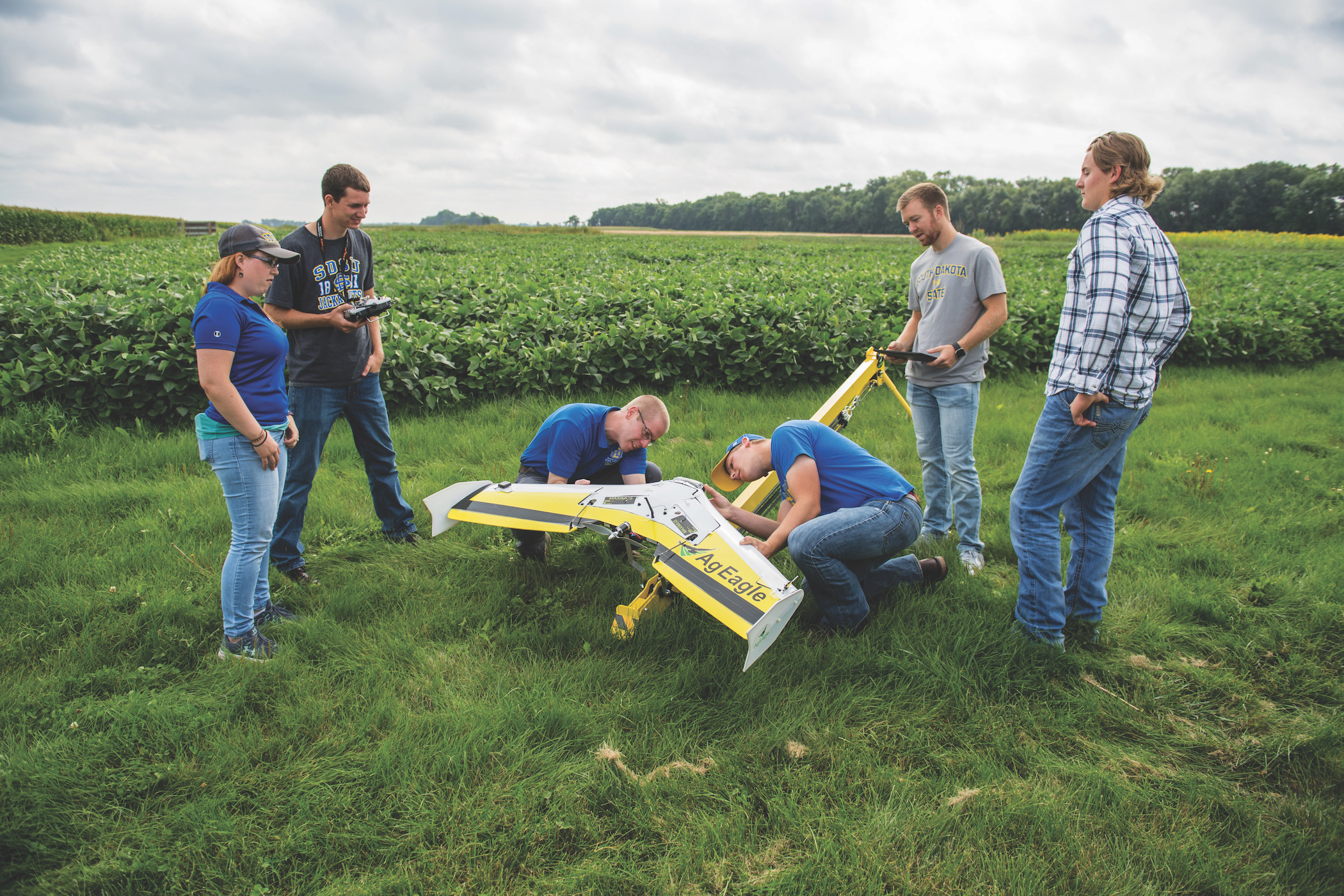 Precision Agriculture students