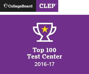 "CollegeBoard ""CLEP Top 100 Test Center 2016-17"""