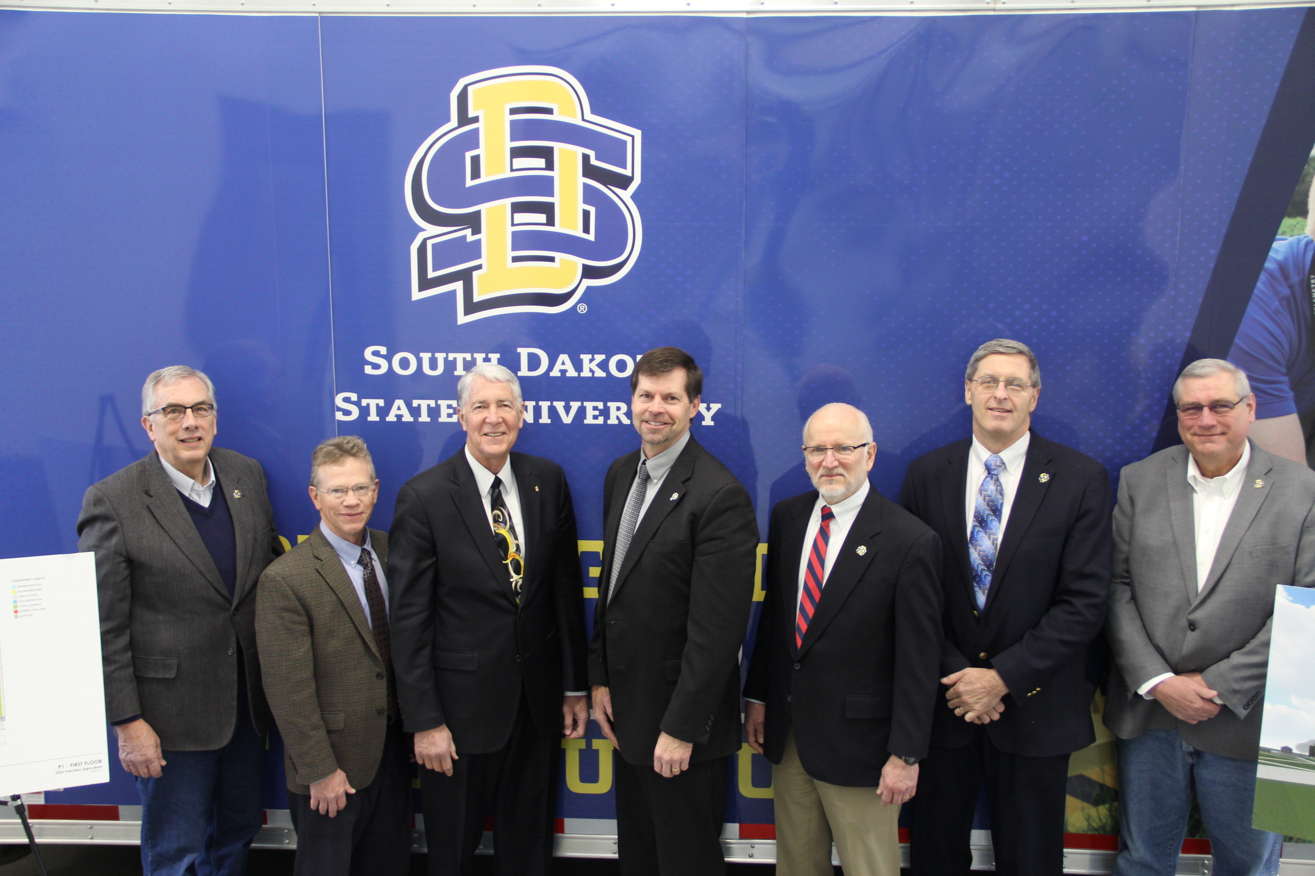 First Bank and Trust is making a $500,000 investment in the new SDSU Precision Agriculture facility.