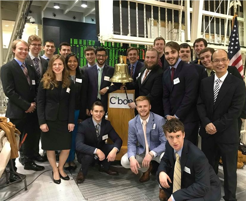 Investment club at CBOE