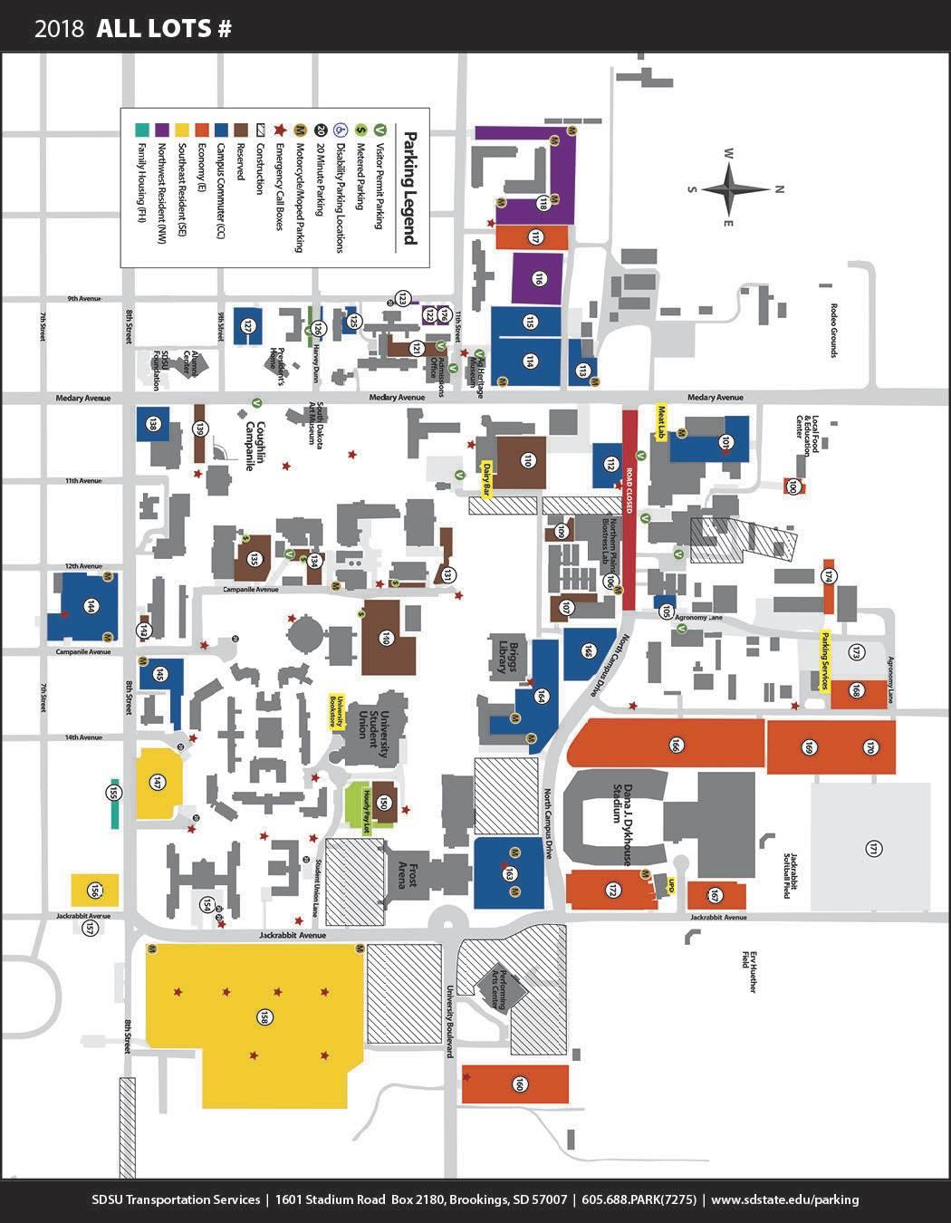sd state campus map Eit 2019 South Dakota State University