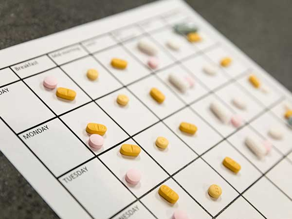 Monthly Pill Planning
