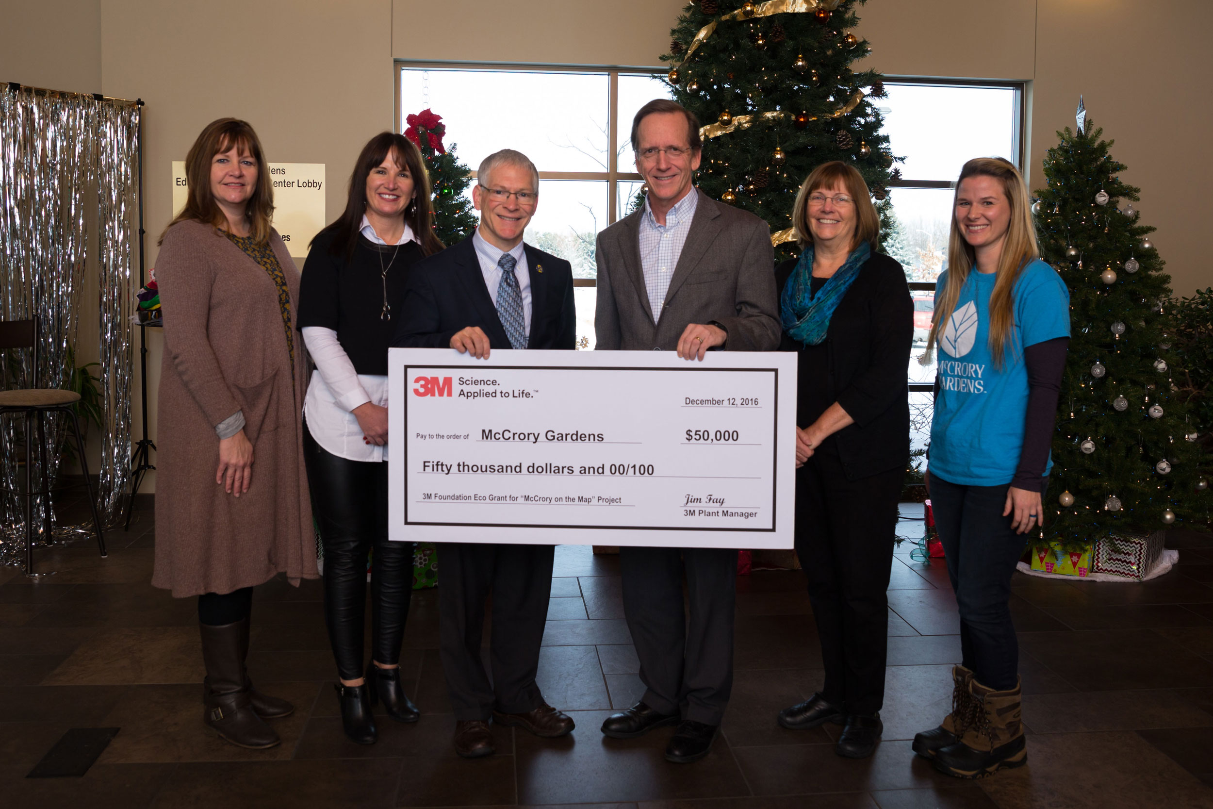 Mccrory Gardens Receives 50k 3m Eco Grant South Dakota State University