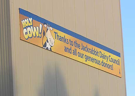 Thanks to the Jackrabbit Dairy Council and all of our generous donors banner