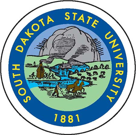 Seal of South Dakota State University 1881