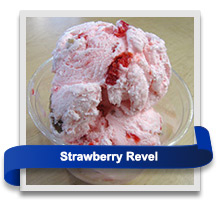 Strawberry Revel ice cream