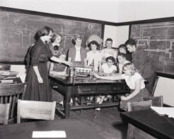 Teacher training, 1953