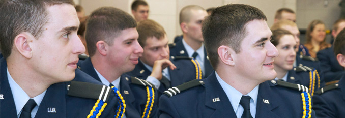 Cadets in Lecture