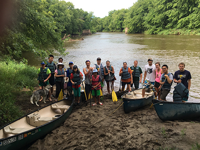 2016 Lab - At the Big Sioux River