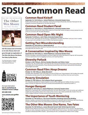 Common Read Events Poster
