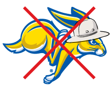 South Dakota State University incorrect logos