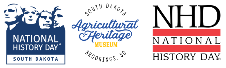 NHD in SD, Ag Heritage Museum, and NHD Logos