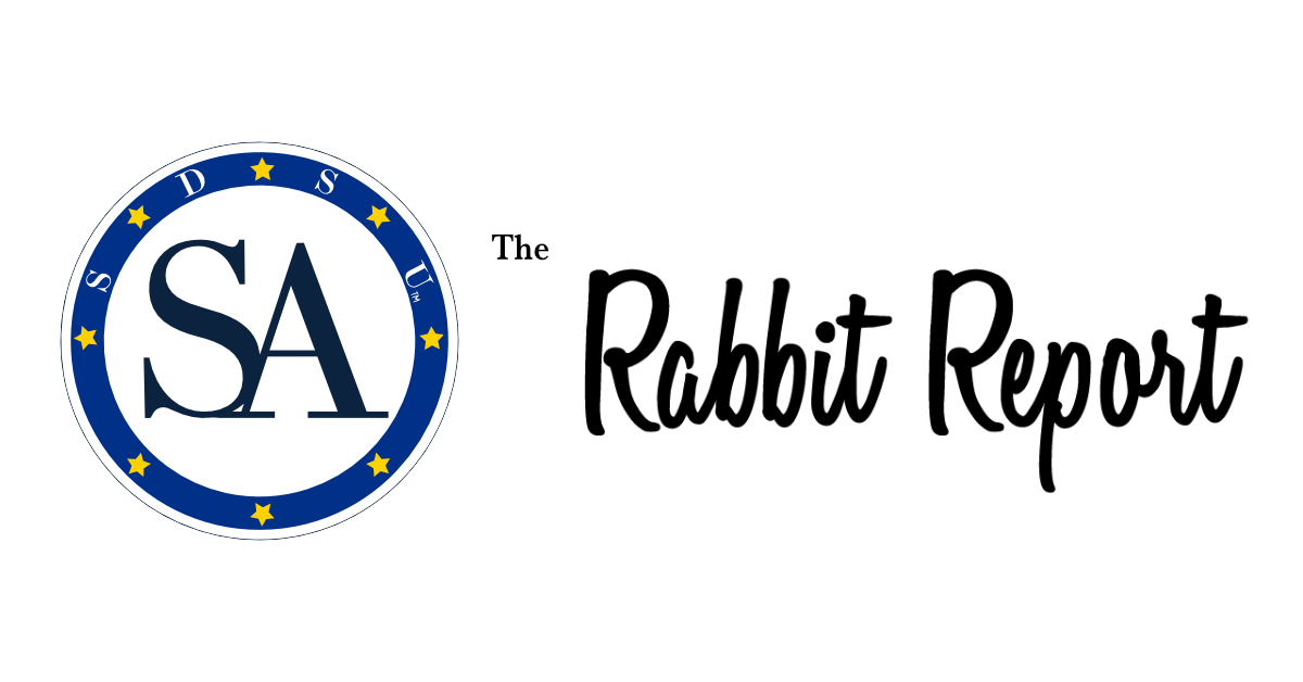 The weekly Rabbit Report from the SDSU Students' Association