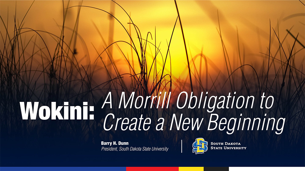 Wokini: A Morrill Obligation to Create a New Beginning