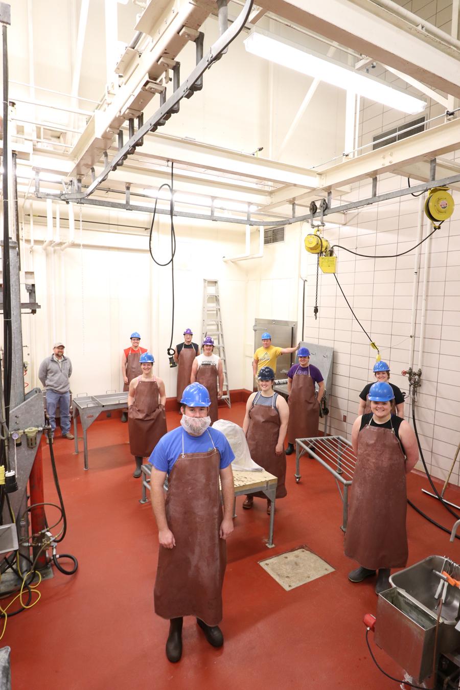 SDSU Meat Lab