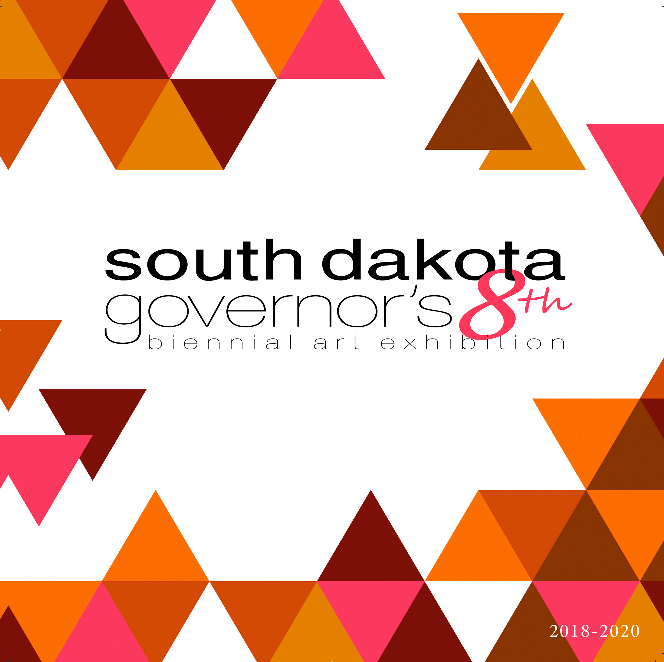 South Dakota Governor's 8th Biennial Art Exhibition logo