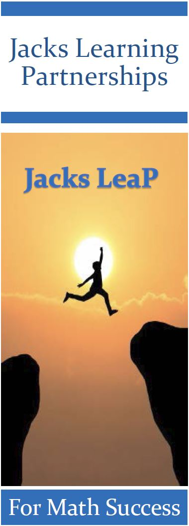 Jacks LeaP program image of student leaping.