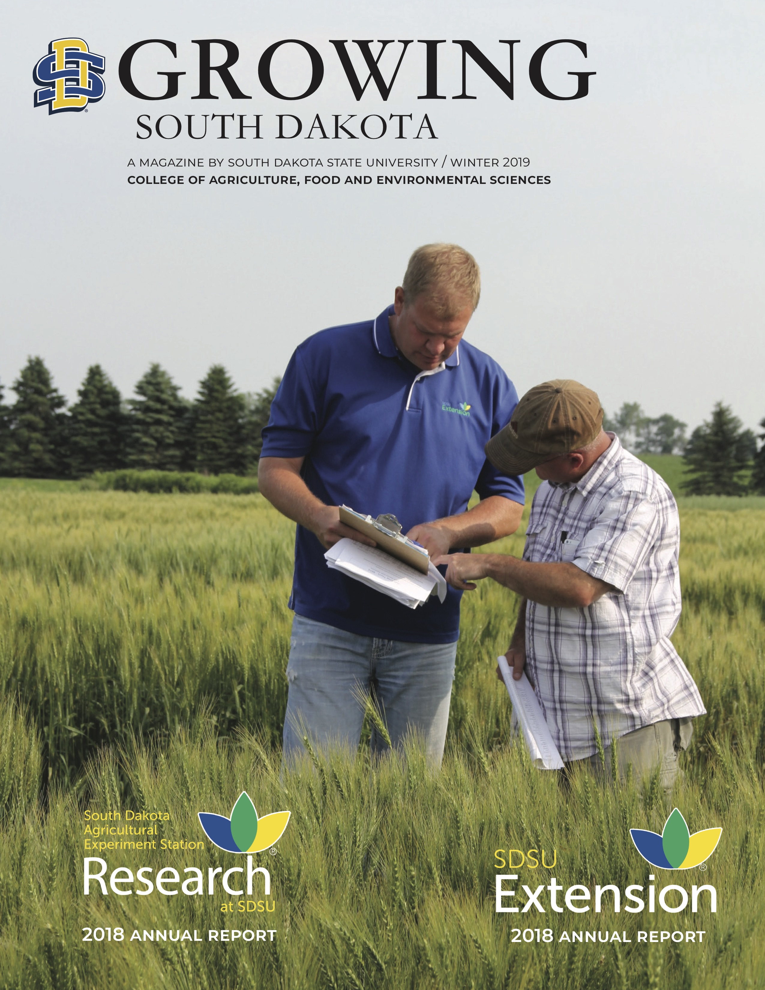 Cover of Growing South Dakota Magazine