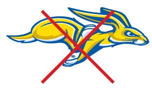 South Dakota State University Incorrect logo