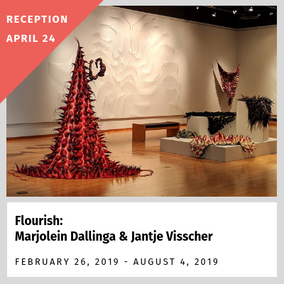 Flourish: Marjolein Dallinga & Jantje Visscher (Feb. 26 - Aug. 4, 2019) - reception April 24