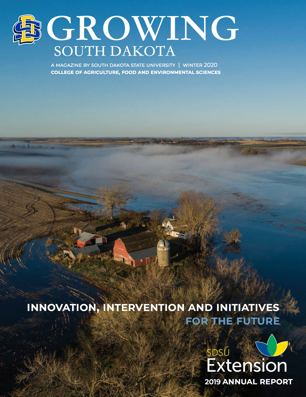 Cover of Winter 2020 Growing South Dakota Magazine