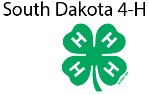 South Dakota State University 4-H logo