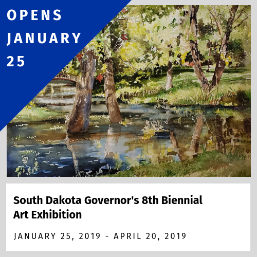 Opens Jan. 25 - South Dakota Governor's 8th Biennial Art Exhibition