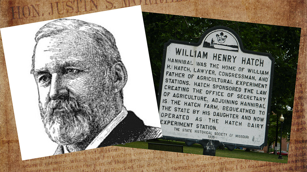 William Henry Hatch Photo and Memorial Plaque