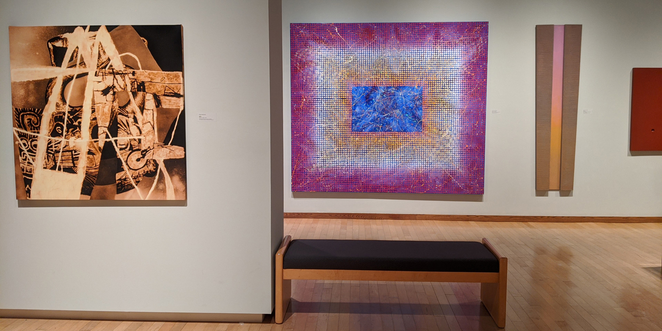 PAST - PRESENT: Recent Acquisitions in Abstraction exhibit (Feb. 29 - July 26, 2020) 2020)