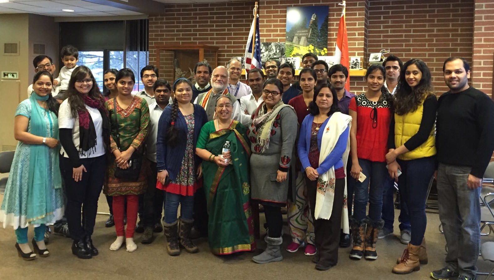Members of the Indian Students' Association host India Night each year, which draws 350-400 people.