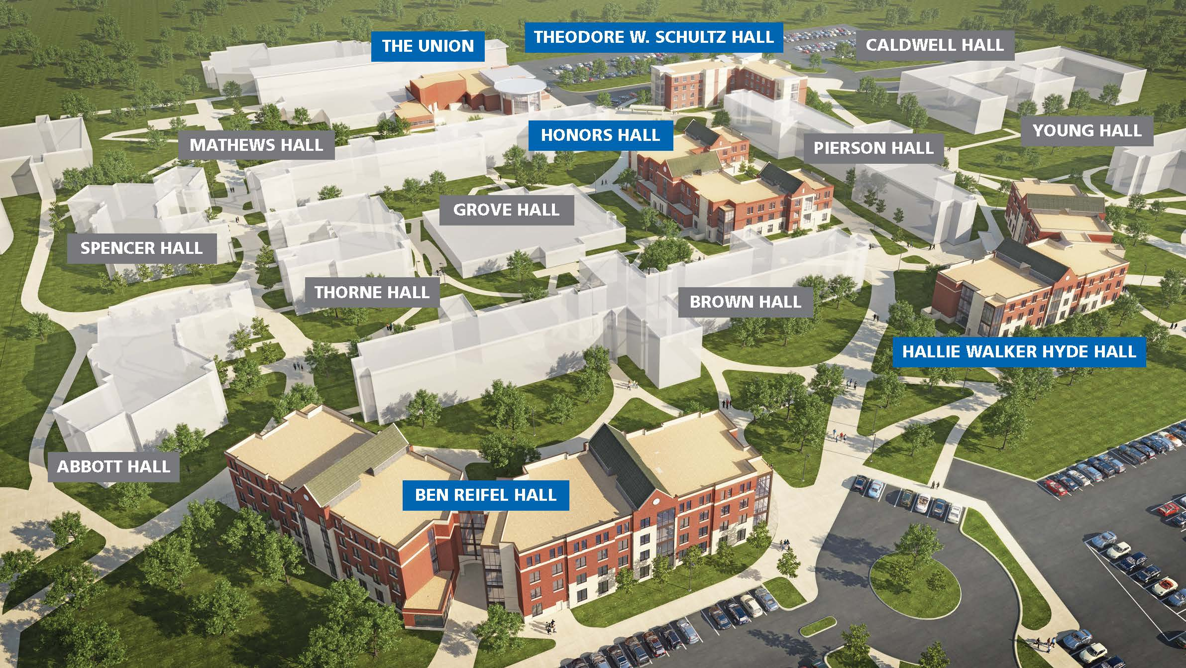 Sdsu Brookings Campus Map World Map Interactive