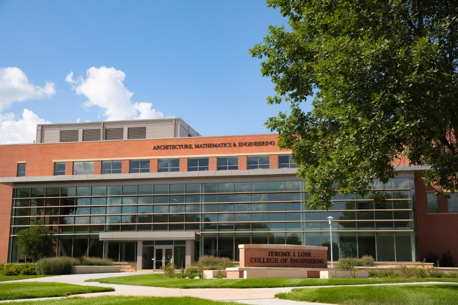"""Architecture, Mathematics and Engineering Hall"""