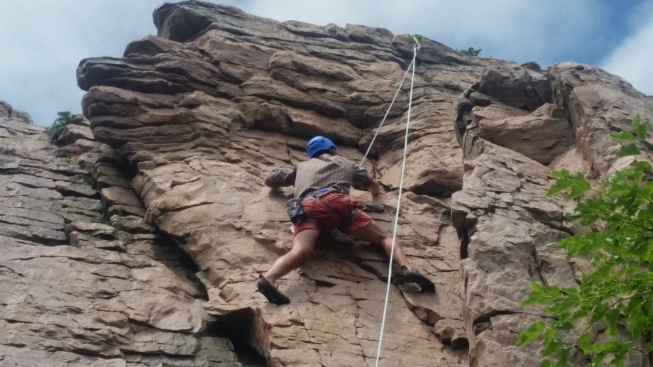 """Outdoor Climbing at Palisades"""