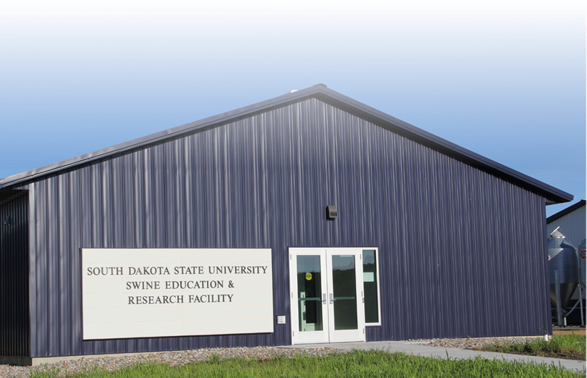 """South Dakota State University Swine Education & Research Facility"""