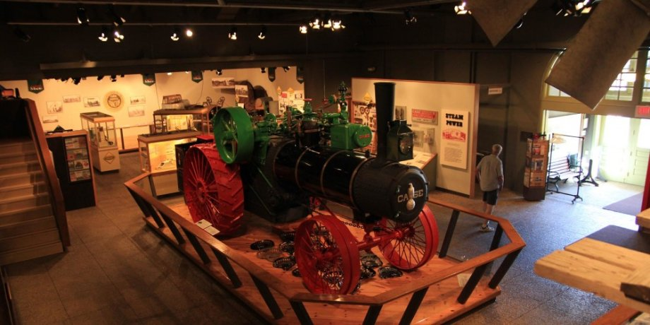 Tractor in the Ag Museum