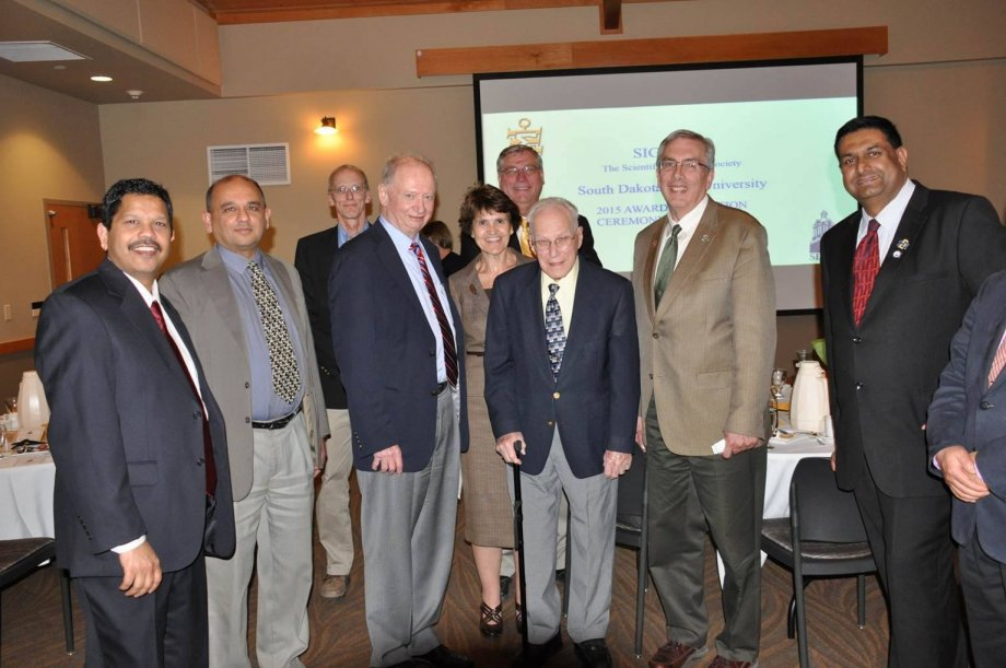 Distinguished guests at 2015 annual banquet