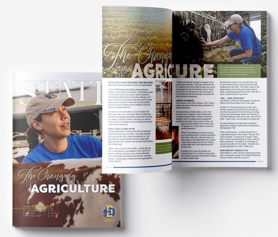 STATE Fall 2019 Cover and Spread