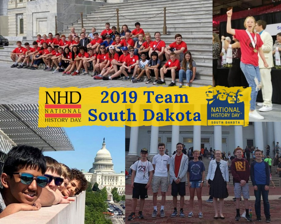 """NHD in SD participants at the national contest"""