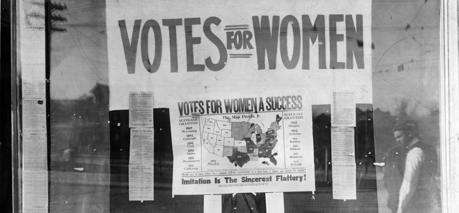 """Sign that says Votes for Women"""
