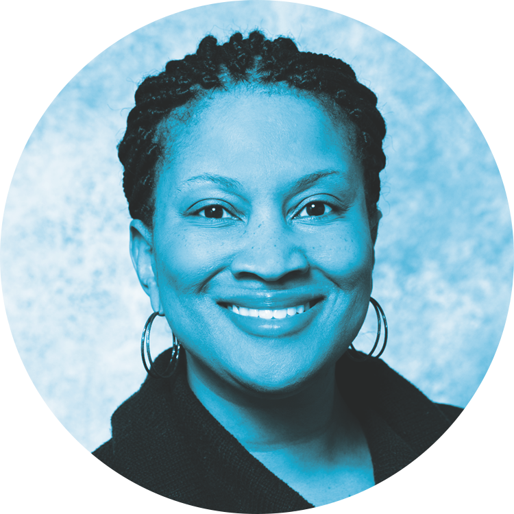 """Headshot of Chamika Hawkins-Taylor, Ph.D."""