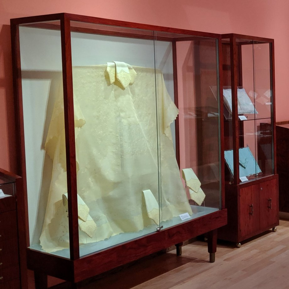 Marghab Linens Exhibit