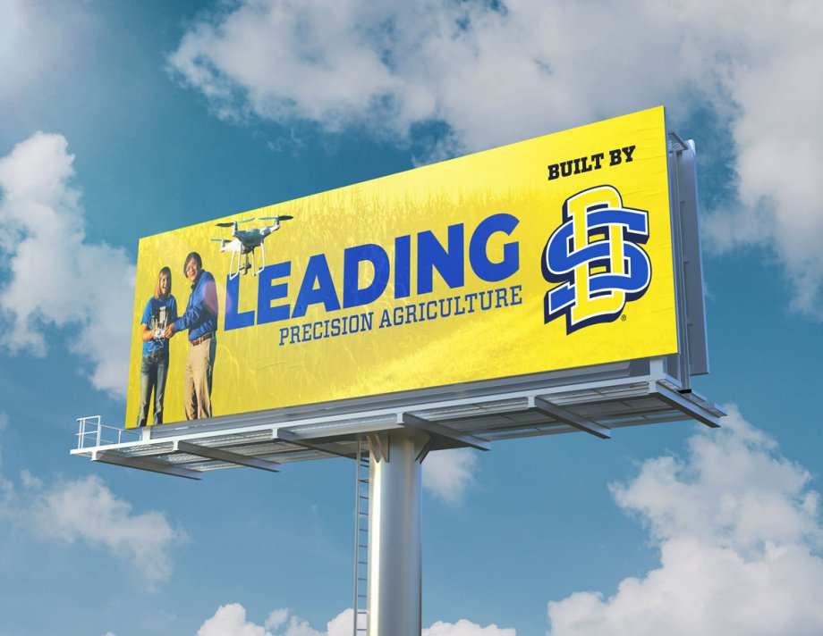 Leading Precision Agriculture Billboard Mockup