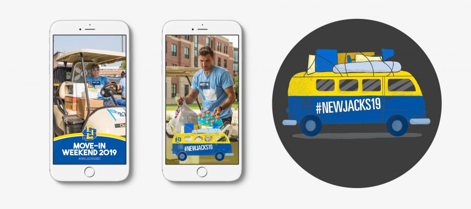 Move-In Weekend Snapchat Geofilters